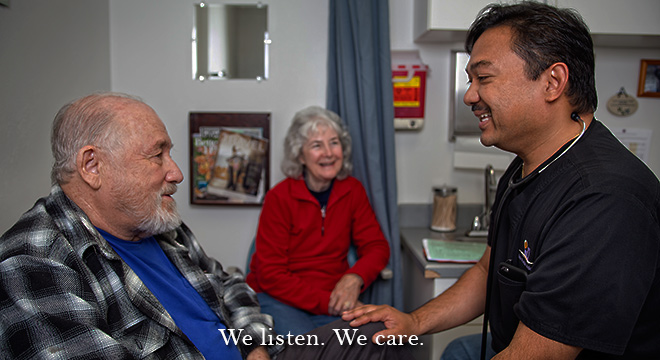 We listen. We care. We're here for you.