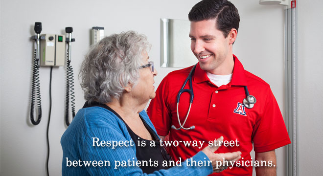 Respect is a two-way street between patients and their physicians