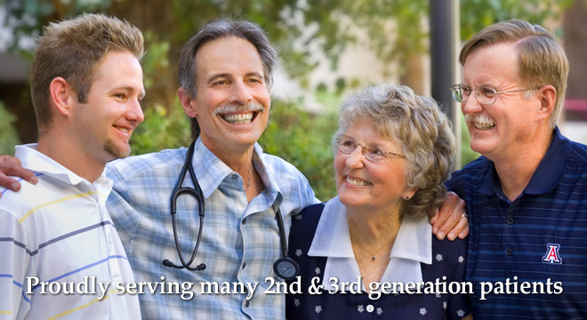 Proudly serving many 2nd & 3rd generation patients