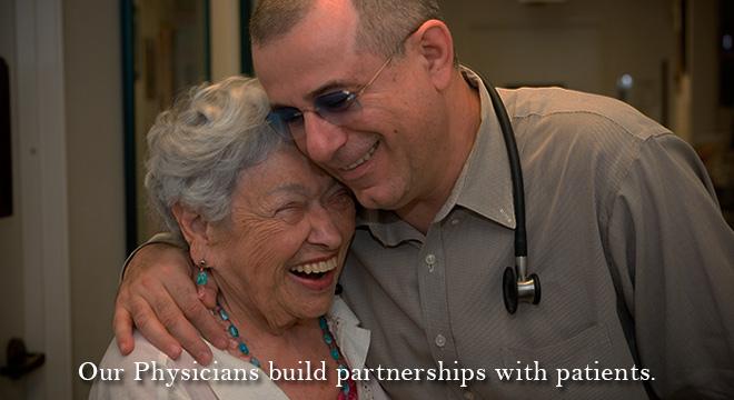 Our physicians build partnerships with patients
